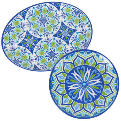 Certified International Morocco 2-pack Serving Set
