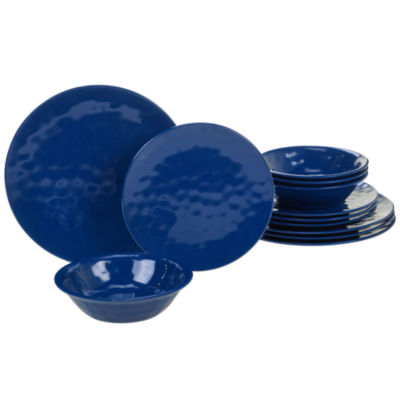 Certified International Solid Melamine 12-pc. Dinnerware Set