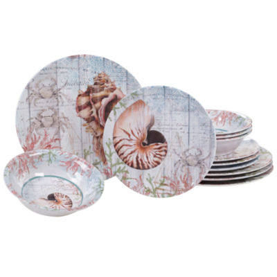 Certified International Sanibel 12-pc. Dinnerware Set