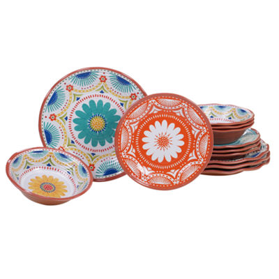 Certified International Vera Cruz 12-pc. Dinnerware Set