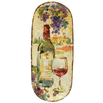 Certified International Vino Serving Platter