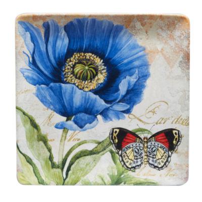 Certified International Poppy Garden Serving Platter