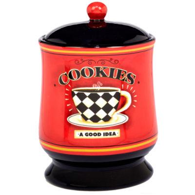 Certified International Coffee Always Cookie Jar