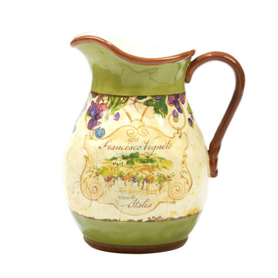 Certified International Vino Serving Pitcher