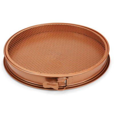 "As Seen on TV Copper Chef 12"" Pizza Pan and Crisper"