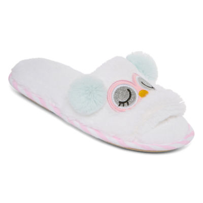 Pj Couture Teddy Slip-On Slippers