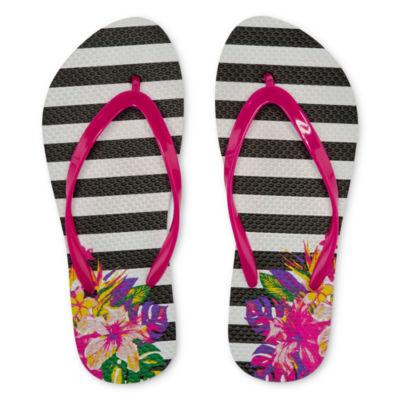 Mixit Tropical Print Flip-Flops