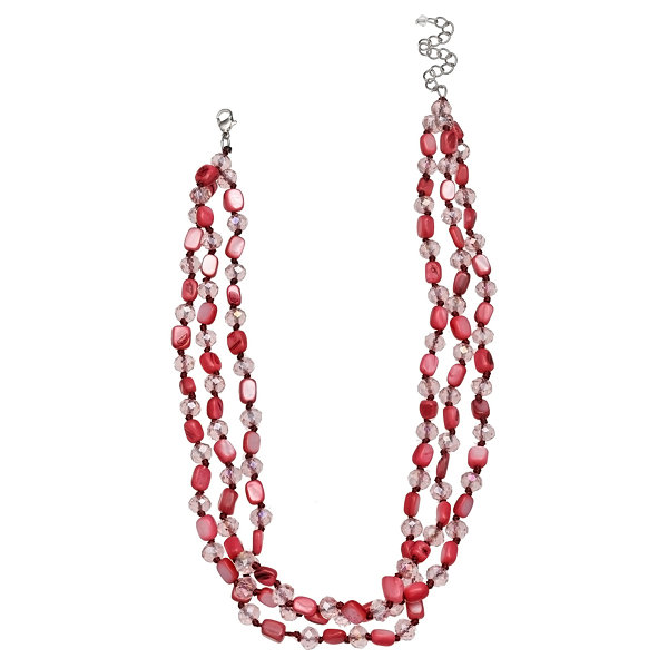 Mixit Clr 0318 Brights Table Beaded Necklace