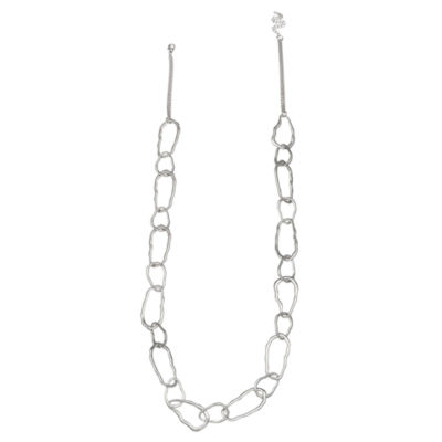 Bold Elements Womens 37 Inch Link Necklace