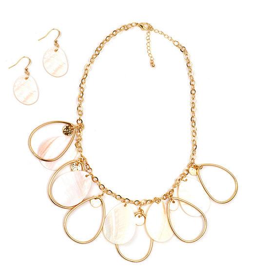 Mixit Gold Tone 2 Pc Jewelry Set