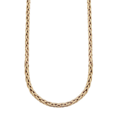 Made In Italy 10K Gold 22 Inch Chain Necklace