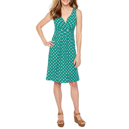 St. John's Bay Flip Flop Dress - Tall