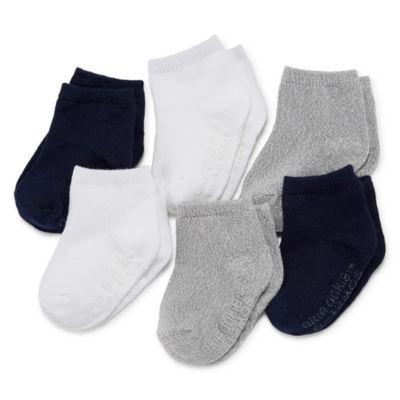 Okie Dokie Multi 6 Pack Crew Socks - Baby