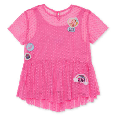 Jojo Siwa Patches Top - Big Kid Girls