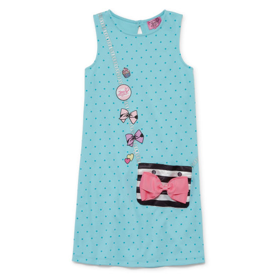 Jojo Sleeveless Skater Dress Girls