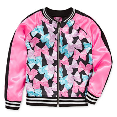 Jojo Girls Lightweight Bomber Jacket