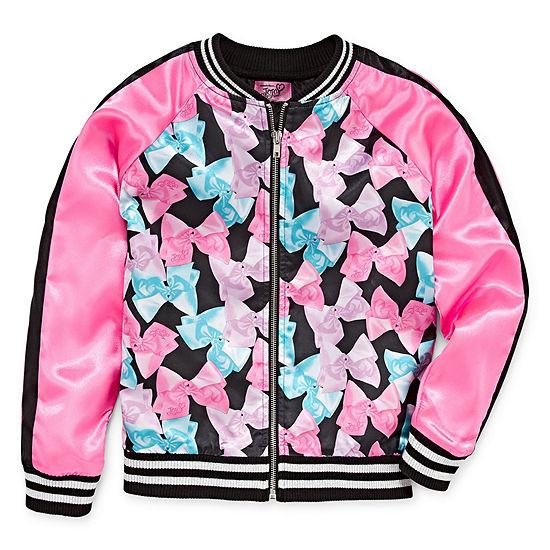 efd135b53 Jojo Siwa Girls Lightweight Bomber Jacket Preschool / Big Kid - JCPenney