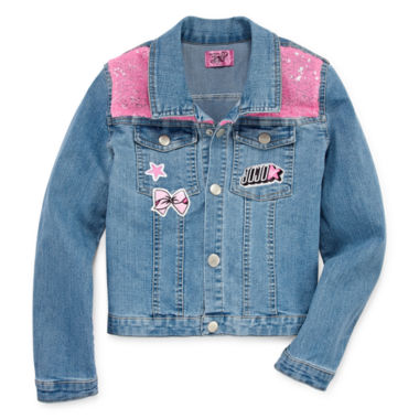 Jojo Siwa Girls Denim Jacket