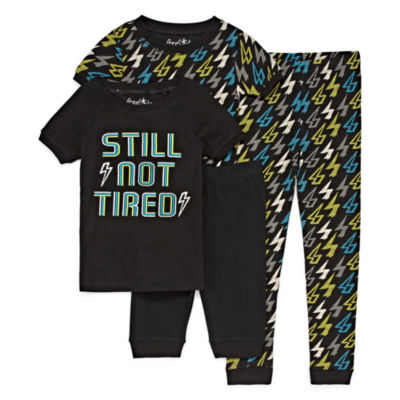 Baby Buns 4-pc. Pajama Set Boys