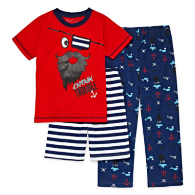Baby Buns 3-pc. Pajama Set Boys
