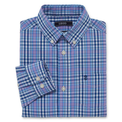 IZOD Stretch Boys Woven Shirt 8-20 - Reg