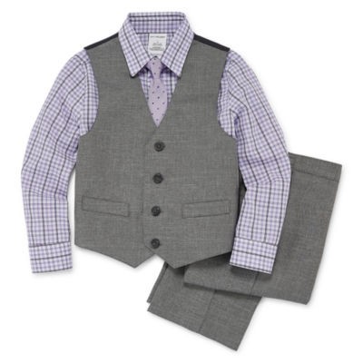 Van Heusen 4-pc. Long Sleeves Suit Set - Boys 4-10