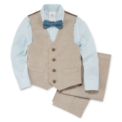 Van Heusen Boys 4-pc. Suit Set 4-10