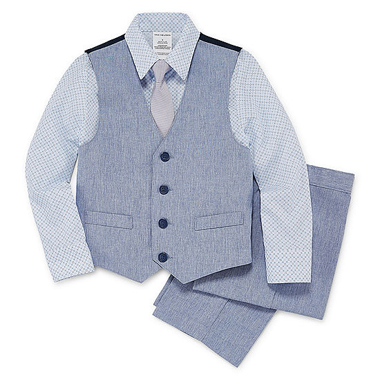 Boys Suit 4-pc. Set 4-10 Van Heusen The Cheapest Cheap Online Clearance Free Shipping Cheap Sale Pay With Visa bPhIPj1