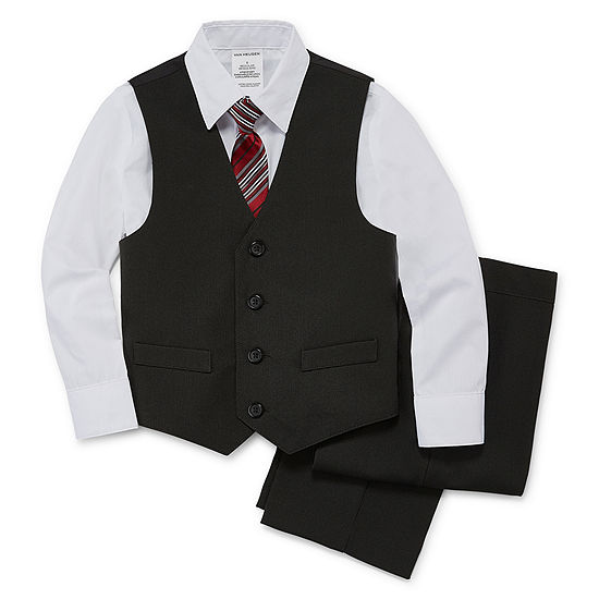 Van Heusen 4-pc. Suit Set Toddler Boys 2T-5T