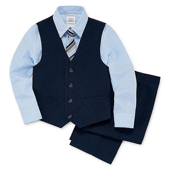 c03f638ab839b3 Van Heusen 4-pc. Suit Set Toddler Boys