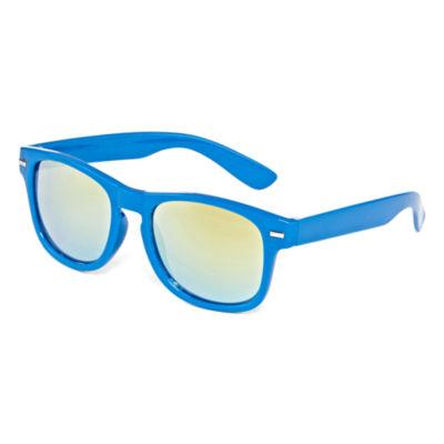 Blue Rectangular Sunglasses - Boys