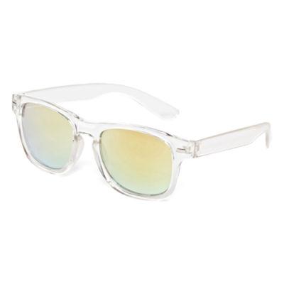 Clear Rectangular Sunglasses - Boys