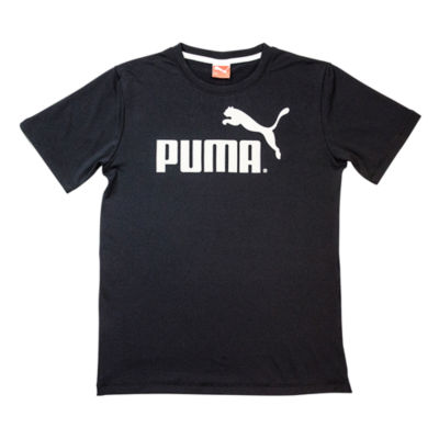 Puma Puma Kids Apparel Short Sleeve Crew Neck T-Shirt-Big Kid Boys