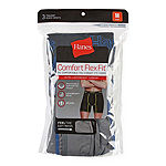 Hanes Comfort Flex Fit 3 Pair Boxer Briefs