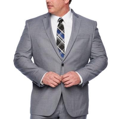 JF J.Ferrar-Big and Tall Classic Fit Stretch Suit Jacket