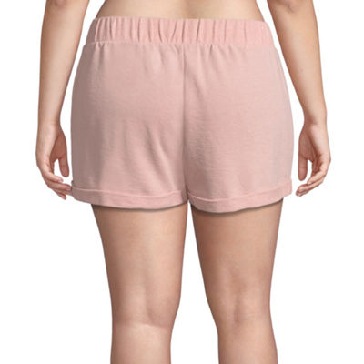 Flirtitude Knit Soft Shorts-Juniors Plus