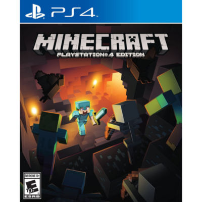 Playstation 4 Minecraft Video Game