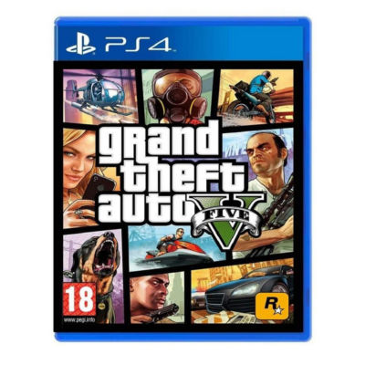 Playstation 4 Grand Theft Auto V Video Game