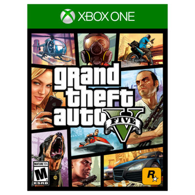 XBox One Grand Theft Auto V Video Game