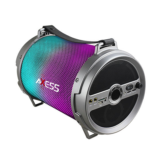 Axess Bluetooth Media Speaker With Wired Mic