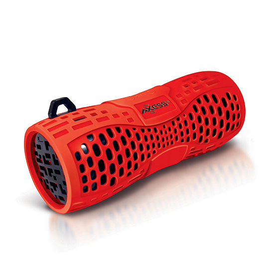 Portable Water-Resistant Bluetooth Speaker with Speakerphone-RED/BLACK