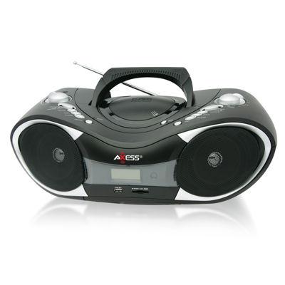 Axess Portable CD/MP3 Boombox