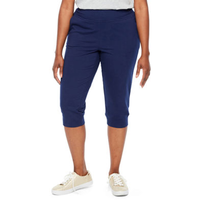 St. John's Bay Active French Terry Jogger Pants-Petite