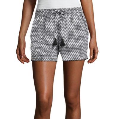 """a.n.a Printed Soft Shorts (3 1/2"""")"""