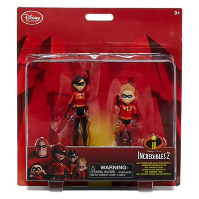 Disney Mrs. Incredible & Dash Action Figures