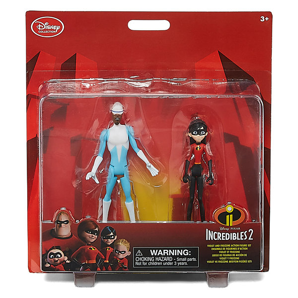 Disney The Incredibles 2 Violet & Frozone Action Figures