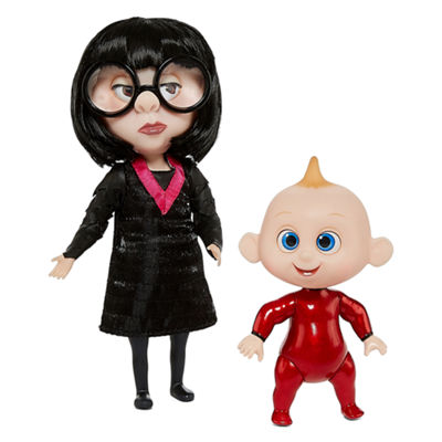 Disney The Incredibles 2 Edna & Jack Action Figures