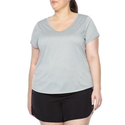 Xersion Short Sleeve Active Tee - Plus