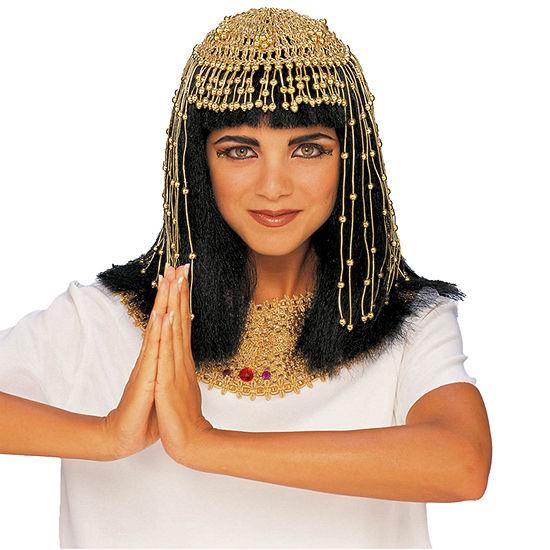 Gold Mesh Cleopatra Headpiece