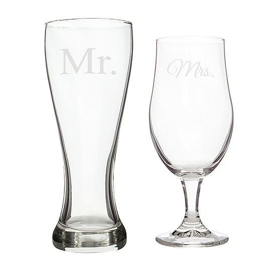 Cathy's Concepts Pilsner Glass